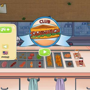 Top cooking games for kids &adults Sandwich club