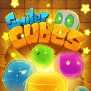 Free online puzzle games-Smiley Cubes