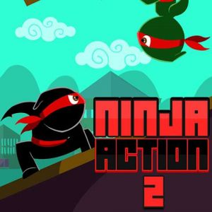 Ninja action 2|Parkour Zombie Game