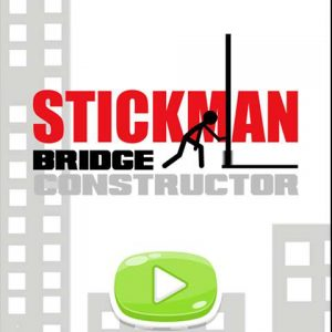popular free stickman game Stickman Bridge