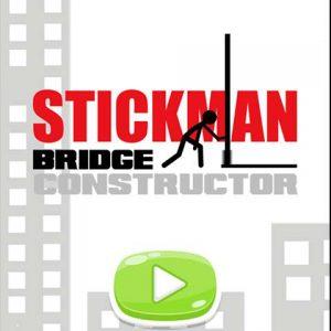 popular free stickman game Stickman Bridge