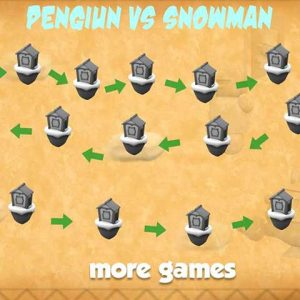 Penguin Wars Snowman