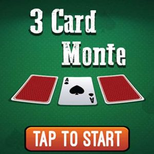 Play the moste popular card game 3D monte
