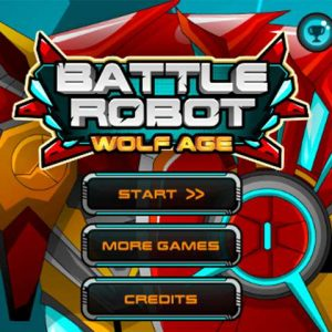 Popular turn based strategy game Battle Robot Wolf Age