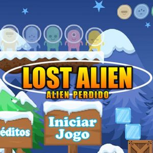 Lost Alien:Free online parkour games unblocked on steam