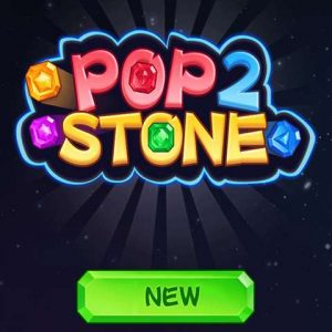 Play free online match 3 game Pop Stone