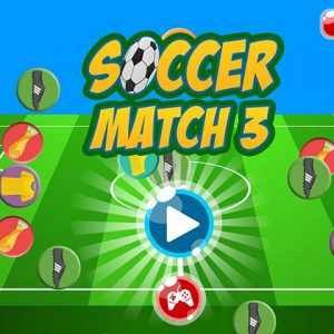 Soccer match 3→jigsaw puzzle games&Puzzle video games