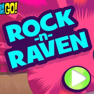 Rock and raven