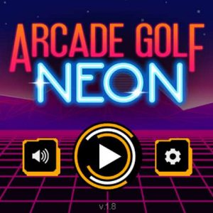 Sports games tonight→Arcade neon golf