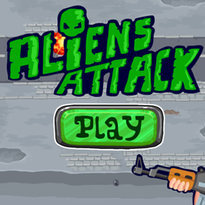 Unblock shooting game Aliens attack