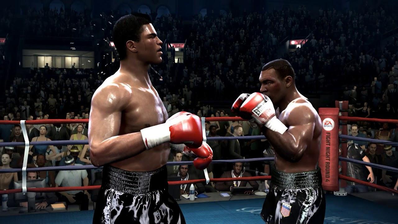 Sports video games Fight Night Round 4