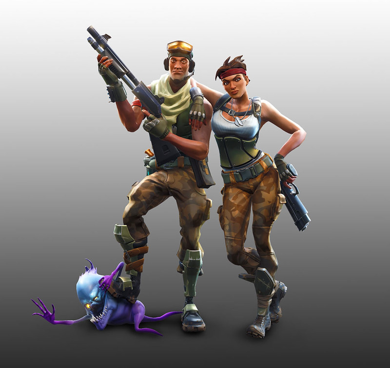 Pick an SSR Character for adventure game Fortnite