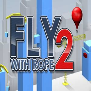 "Classic Arcade Game ""Fly with Rope"""