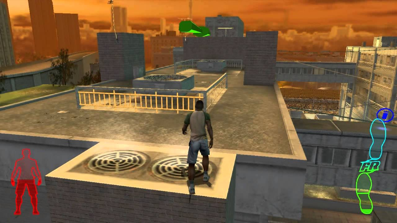 Free Running Parkour Game