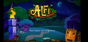 adventure game alfy-step 1