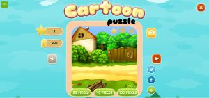 How to play puzzle game cartoon puzzle
