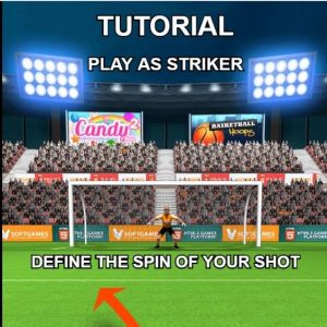 How to be a Soccer Player in Real Freekick Games Flash Play step2