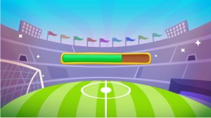How to Play Toon Cup 2016 Sports Football Games step1
