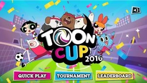 How to Play Toon Cup 2016 Sports Football Games step2