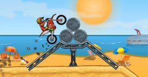 Feature bike games online Moto X3M