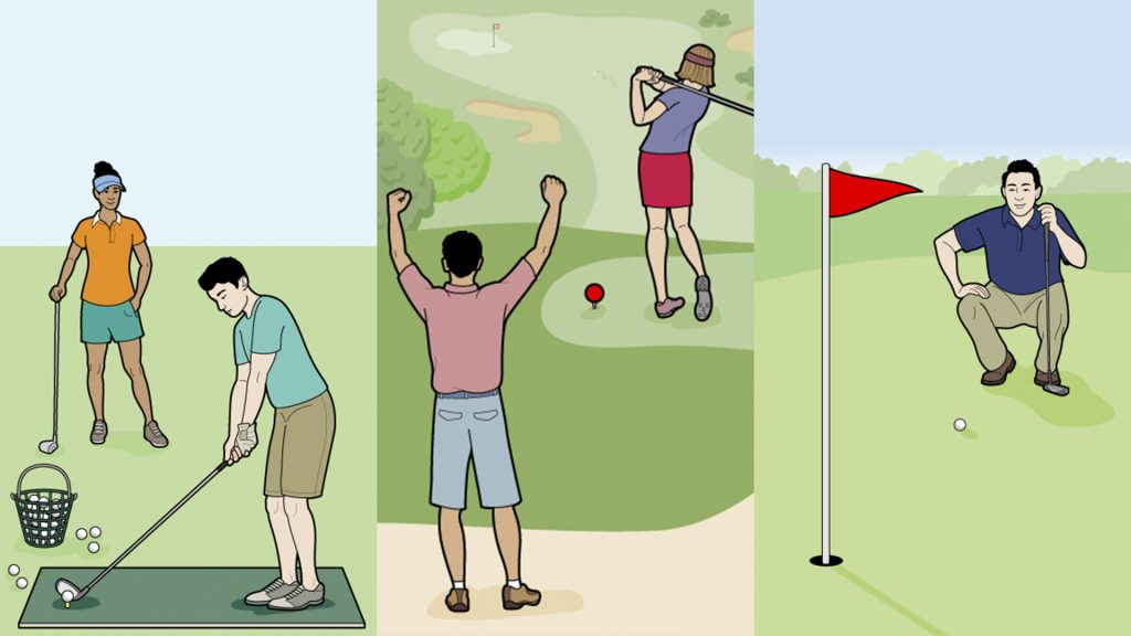 Golf Short Game Practice Tips for the Beginners