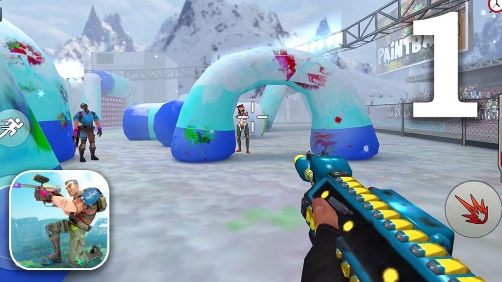 An Overview How to Play Paintball Shooting Game