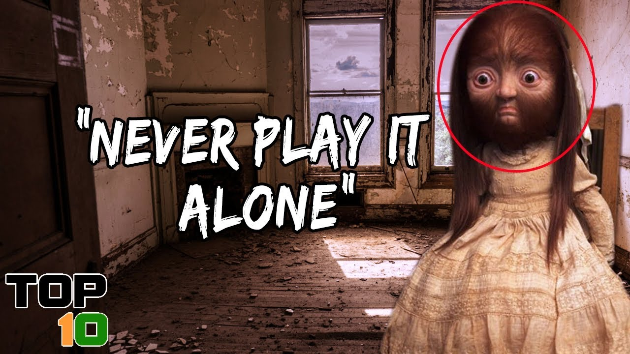 Top 10 Scary Games You Should Never Play Alone
