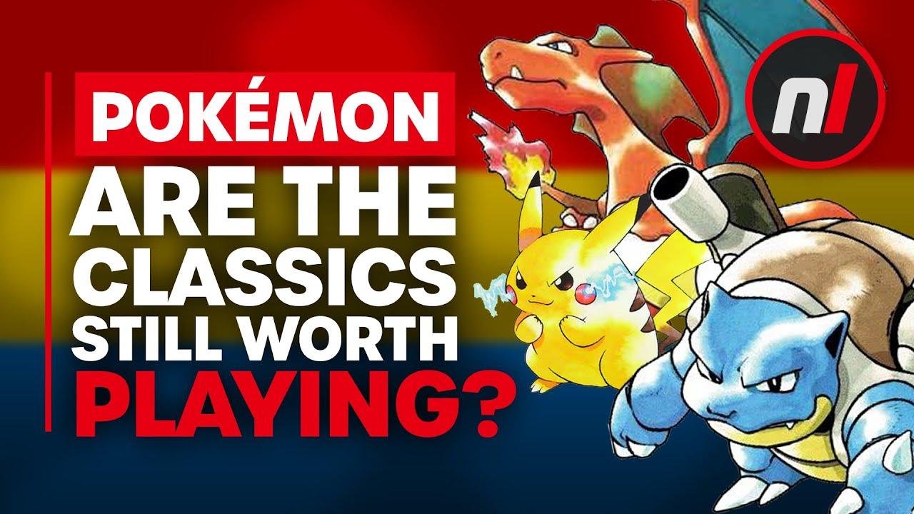 Are the Original Pokémon Games Still Worth Playing?